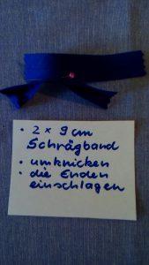 14 Schrägband